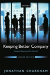 公司越来越好:公司治理十年 Keeping Better Company: Corporate Governance Ten Years On